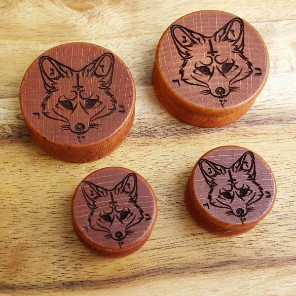 Evil Fox Holzplug aus eigener Herstellung