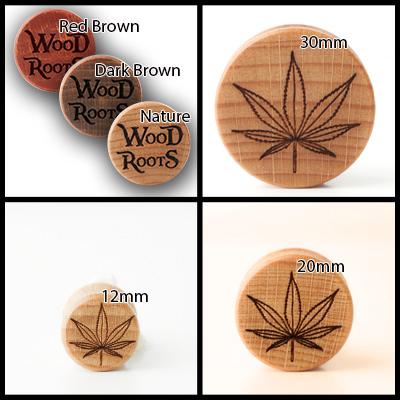 Hemp Holzplug aus eigener Herstellung