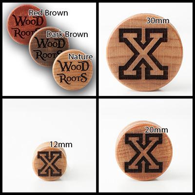 Straight Edge Holzplug aus eigener Herstellung