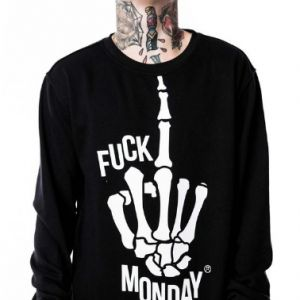Killstar F* Monday Sweatshirt