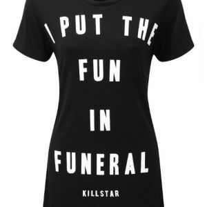 Killstar Funeral Open Back Top