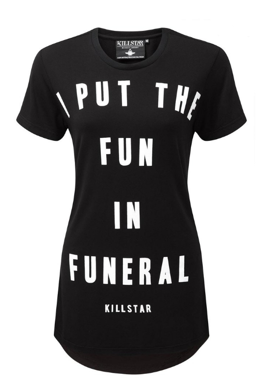 Killstar Funeral Open Back Top