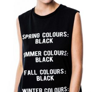 Killstar Season Muscle Tank Top