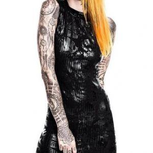Killstar Chaos Enfant Terrible Midi Dress