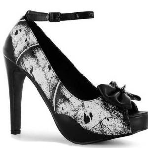 Iron Fist Crypt Keeper Platform High Heels