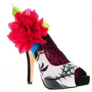 Iron Fist Lady Killer Peep Toe Platform High Heels