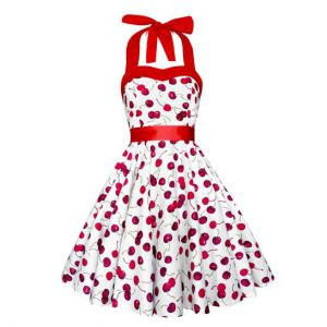 Lady Mayra Rockabilly Cherry Dress