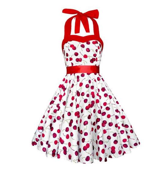 Lady Mayra Rockabilly Cherry Dress