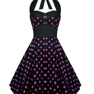Lady Mayra Dress black pink