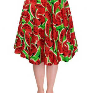 Lady Mayra Rockabilly Melon Skirt