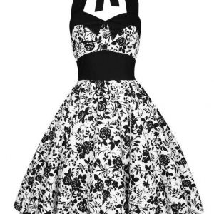 Lady Mayra Rockabilly Dress Roses