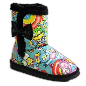 Iron Fist Over The Rainbow Fugly Boots