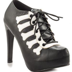 Iron Fist Wishbone Platform High Heels