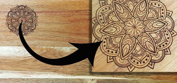 Dein Custom Servierbrett oder Schneidebrett mit Holzgravur