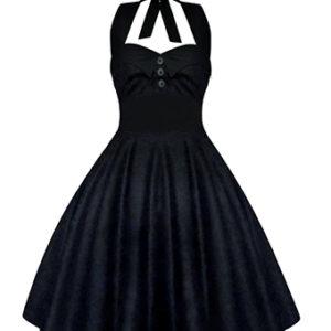 Lady Mayra Rockabilly Dress All Black