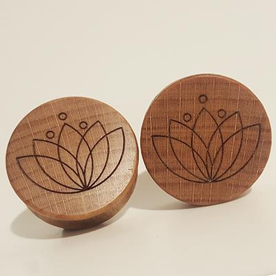 Tulip Holzplugs aus eigener Herstellung