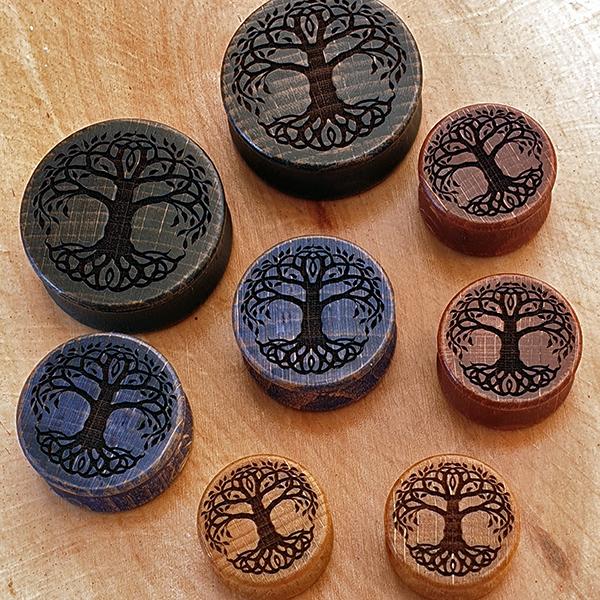 Tree of Life Plug aus eigener Herstellung