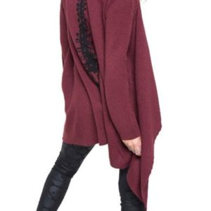 Iron Fist Spineless Drape Sweater