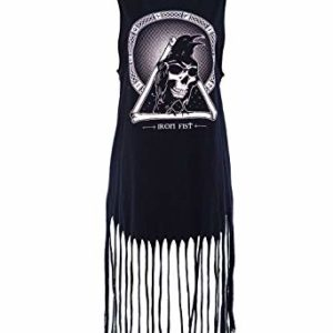 Iron Fist Throne Fringe Tank Dress