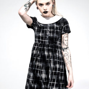 Disturbia Bad Habits Dress - Schwarz