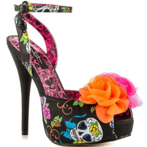 Iron Fist Sweet Tooth Flower Platform High Heels