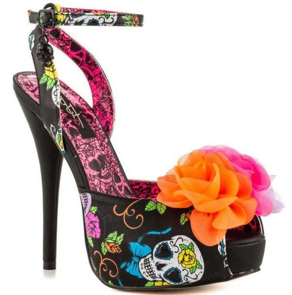 Iron Fist Sweet Tooth Flower Platform High Heels