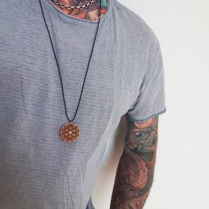 Halskette Amulett Mandala